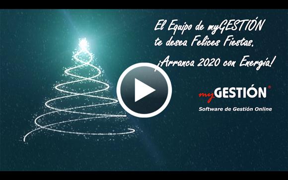 ¡myGESTIÓN te desea Feliz Navidad y próspero 2020!