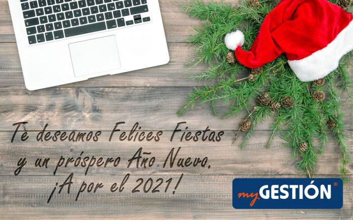 ¡myGESTIÓN te desea Felices Fiestas y un próspero 2021!