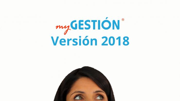 ¡Ya está disponible la nueva versión de myGESTIÓN!