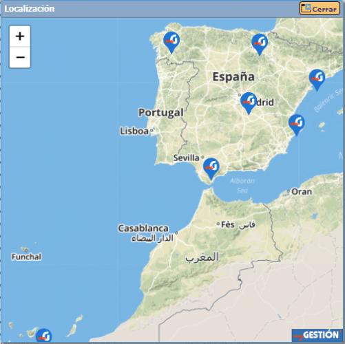 geolocalización orden de trabajo