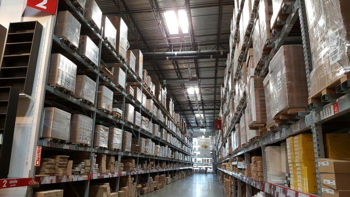Gestión de mercancías en el almacén