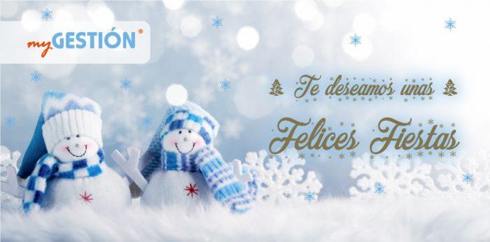 El equipo de myGESTIÓN te desea ¡Felices Fiestas!