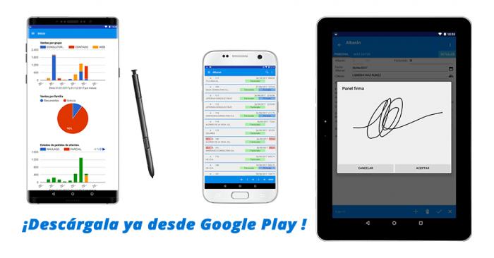 Aplicación móvil software de facturación y gestión