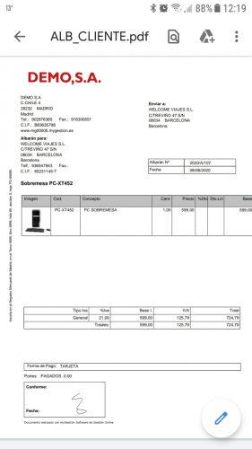 pdf albarán movil