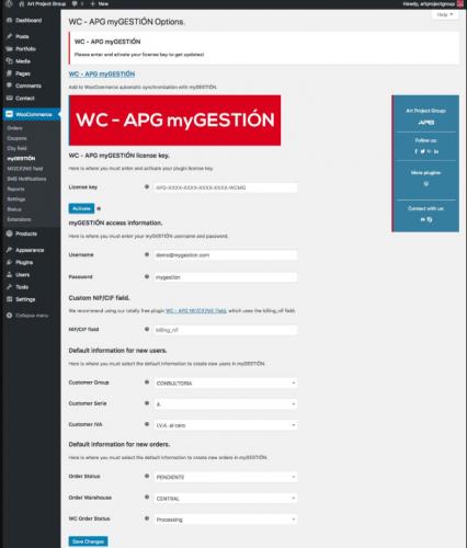 integración ERP WooCommerce